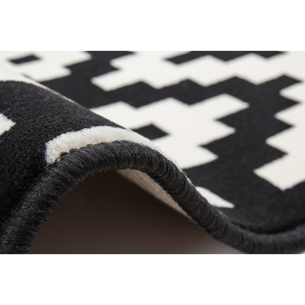 Czarny dywan Kayoom Stella 300, 160x230 cm