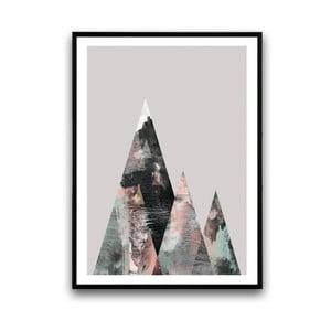Plakat w drewnianej ramie Lycium, 38x28 cm