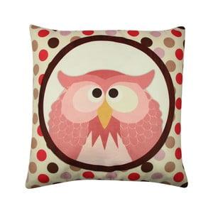 Poduszka Owl No. 3, 43x43 cm