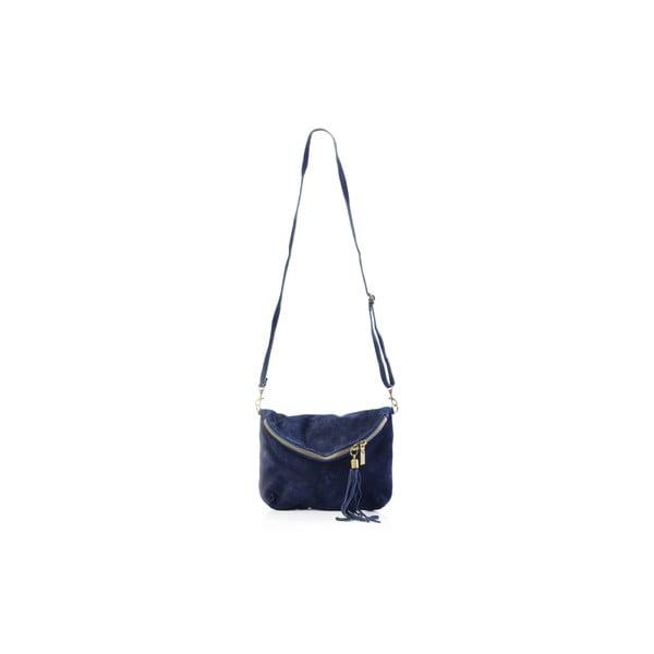 Skórzana torebka Julie, niebieska