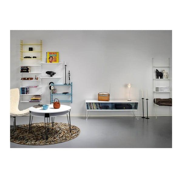 Czarna półka na zdjęcia RGE Ester, 80 cm