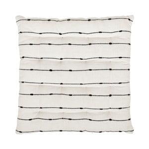 Czarno-biała poduszka na krzesło A Simple Mess Kilde 40x40cm