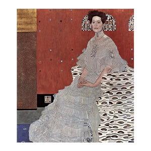 Reprodukcja obrazu Gustava Klimta - Fritza Riedler, 80x70 cm