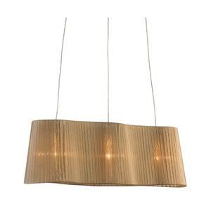 Lampa sufitowa Vinsingso 76 cm, beżowa