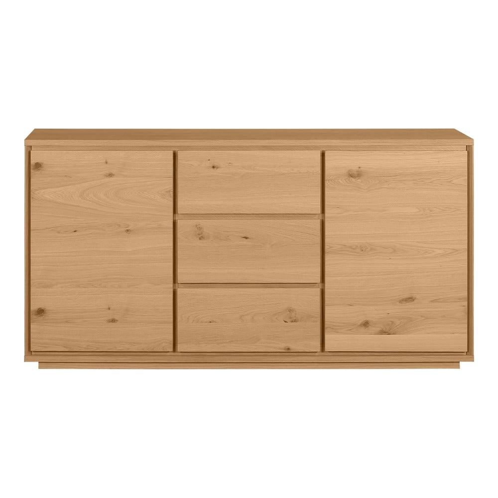 Komoda drewniana z 3 szufladami Artemob Stockholm