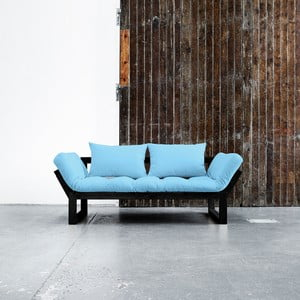 Sofa Karup Edge Black/Celeste