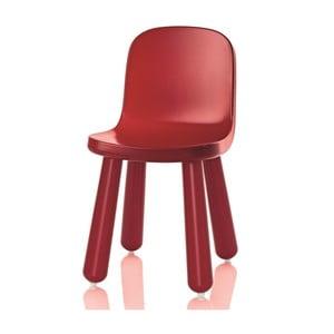 Czerwone krzesło Magis Still