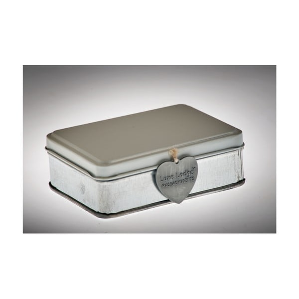 Pudełko Metallo Bianca