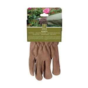 Rękawice ogrodnicze z zieloną lamówką Esschert Design Spelter