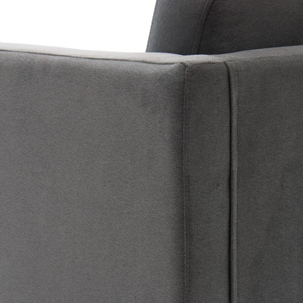 Sofa trzyosobowa VIVONITA Sondero Light Grey, naturalne nogi