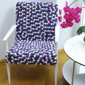 Ręcznie wykonany kulkowy fotel Lavender Field