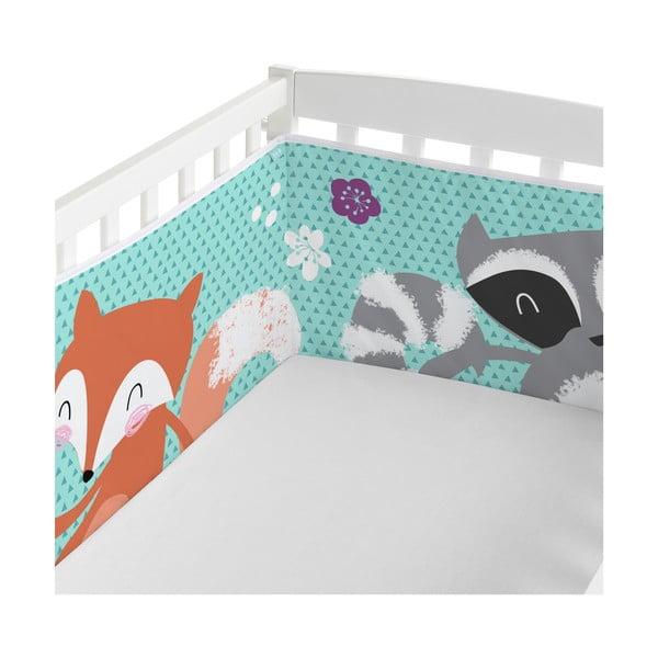 Regulowany ochraniacz do łóżeczka Baleno Dreams, 210x40 cm