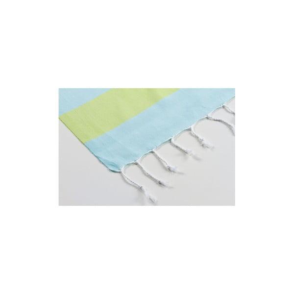 Ręcznik hamam Myra Mint Green, 100x180 cm
