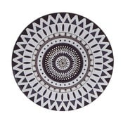 Plastikowa taca Black and White, 33 cm