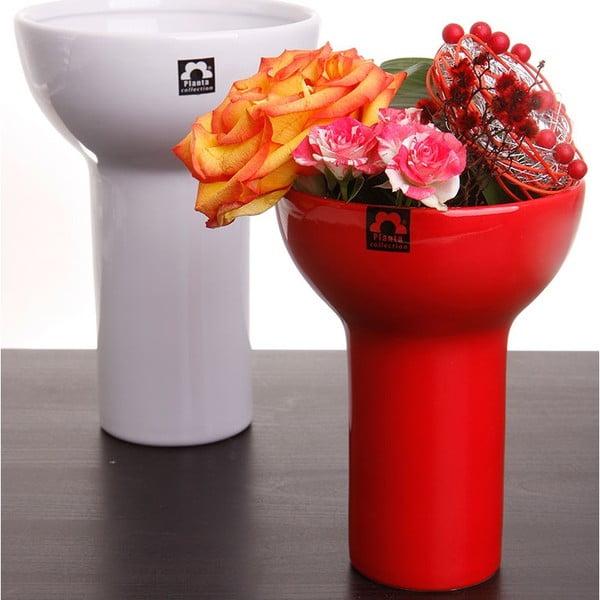 Wazon Odet 25 cm, czerwony