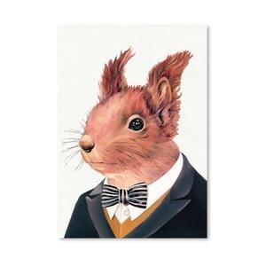 """Plakat """"Squirrel"""", 30x42 cm"""