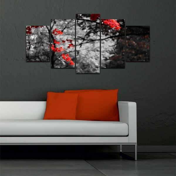 Wieloczęściowy obraz Black&White no. 42, 100x50 cm