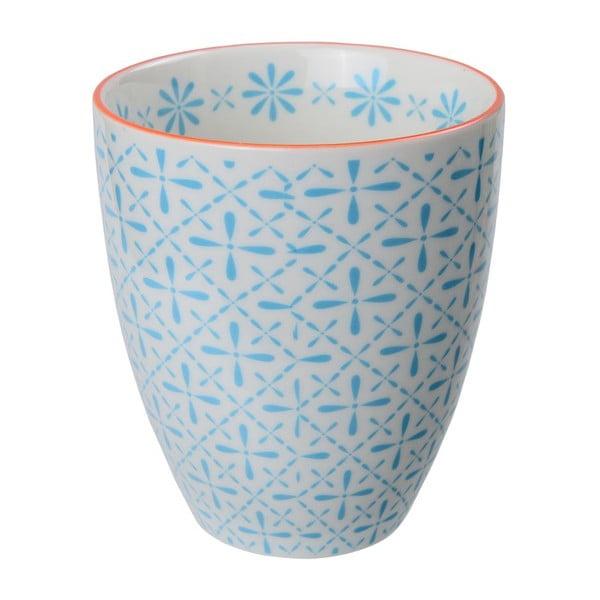 Porcelanowy kubek Orient Blue, 8,7x9,8 cm
