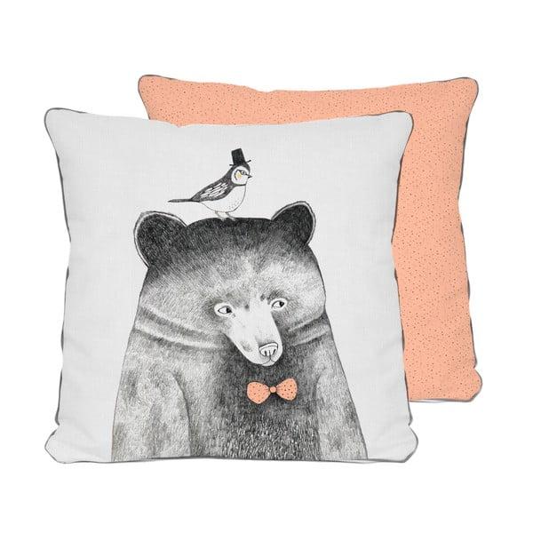 Poduszka Pillow Bear, 45x45 cm