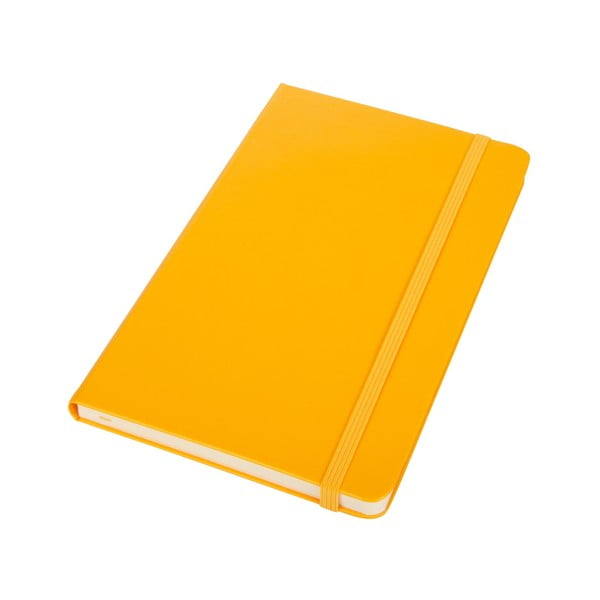 Notatnik Moleskine Orange Hard LG, w linie