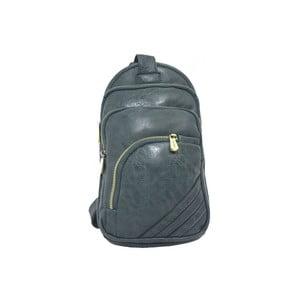 Plecak Bobby Black - niebieski, 15x28 cm