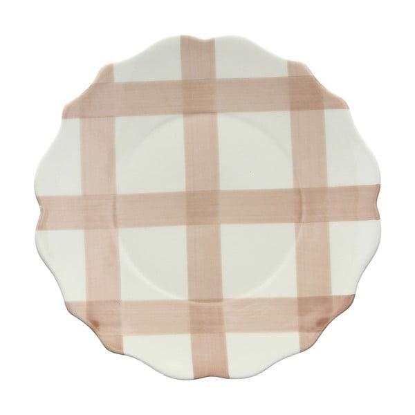 Zestaw 6 talerzy deserowych Conchita Beige