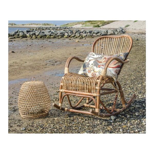 Rattanowy fotel bujany House Nordic Celta