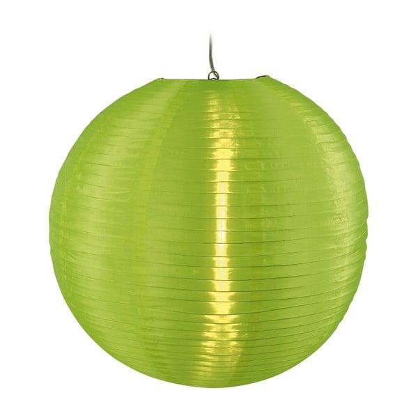Lampa wisząca Japanballon, zielona