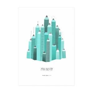 Plakat Min Bly By