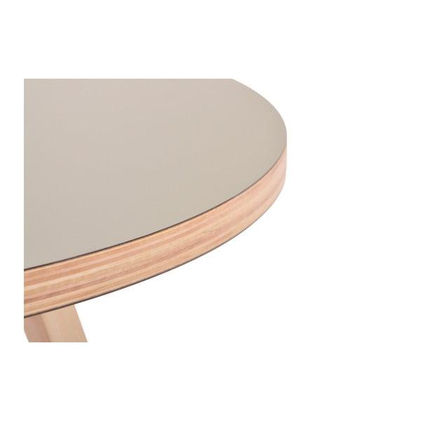 Zielony okrągły stół Garageeight Arvika