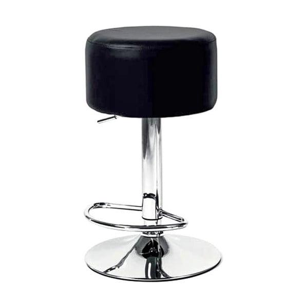 Krzesło barowe London, czarne