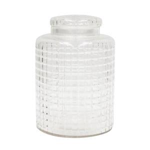 Szklany pojemnik Diamond, 33 cm