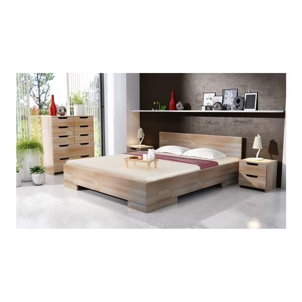 Łóżko 2-osobowe z drewna bukowego SKANDICA Spectrum Maxi, 160x200 cm
