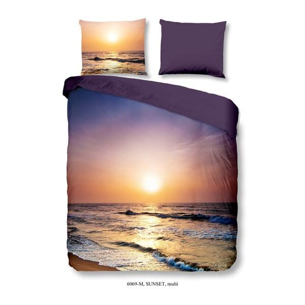 Pościel dwuosobowa z mikroperkalu Muller Textiels Sunset, 200x200 cm