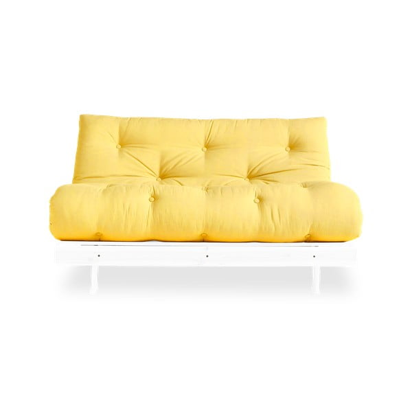Sofa wielofunkcyjna Karup Design Roots White/Yellow