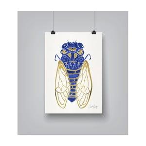 Plakat Americanflat Cicada, 30x42 cm