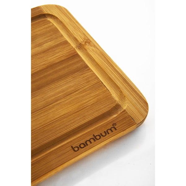 Bambusowa deska do krojenia Bambum Toscana, 27 cm