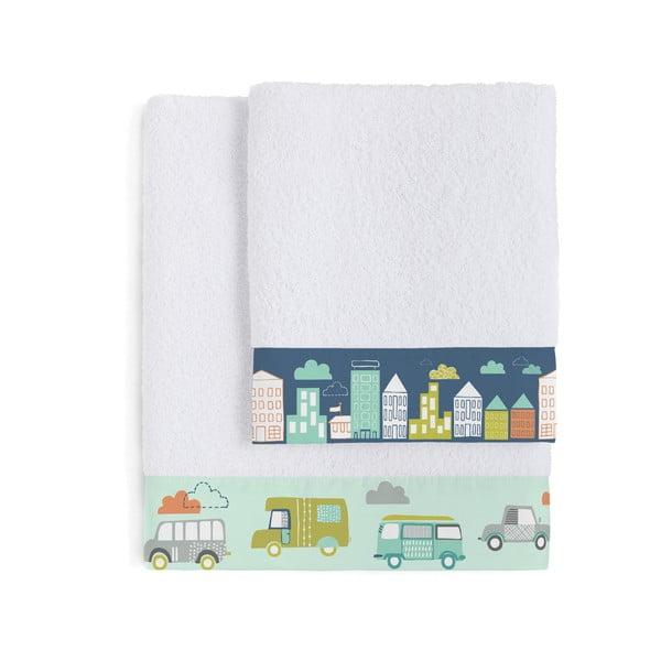 Zestaw 2 ręczników Holidays, 50x100 i 70x140 cm