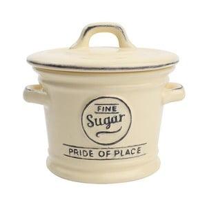 Kremowy pojemnik porcelanowy na cukier T&G Woodware Pride of Place
