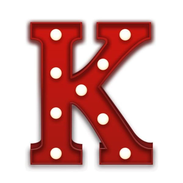 Światło dekoracyjne Carnival K, czerwone