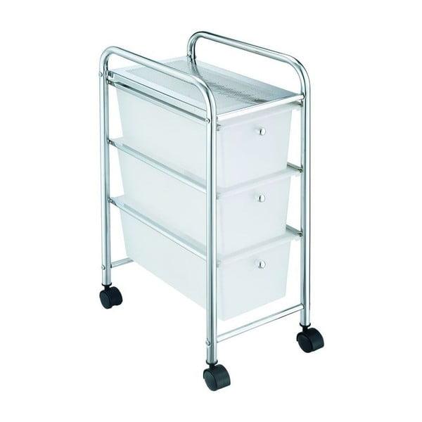 Wózek z szufladkami Carro Blanco