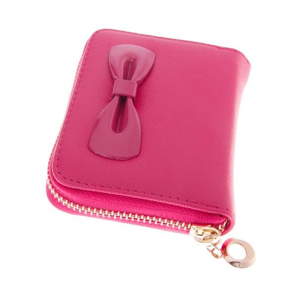 Mały portfel Ladiest, ciemnoróżowy