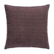 Pikowana poduszka z wypełnieniem 45x45cm, czekoladowa