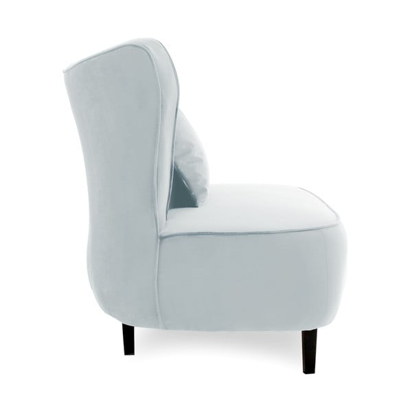 Niebieskoszary fotel Vivonita Douglas Love Seat
