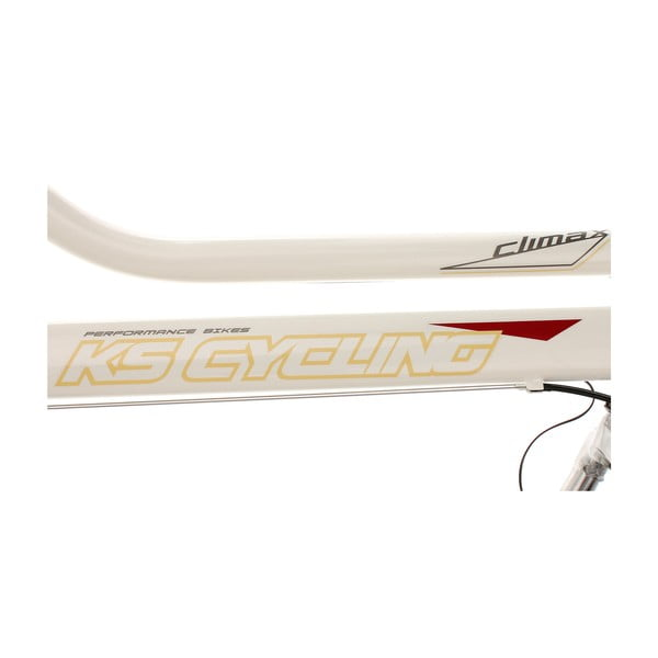Damski rower City Bike CLX White 53 cm, 28""