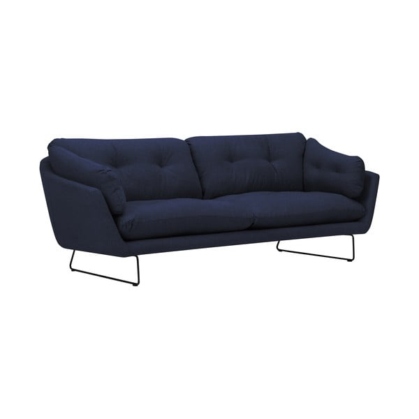 Ciemnoniebieska 3-osobowa sofa Windsor & Co Sofas Comet