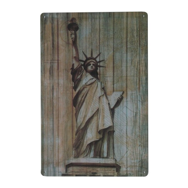 Tablica Statue of Liberty, 20x30 cm