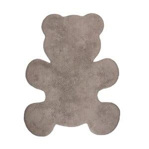 Brązowy dywan dziecięcy Nattiot Little Teddy, 80x100 cm