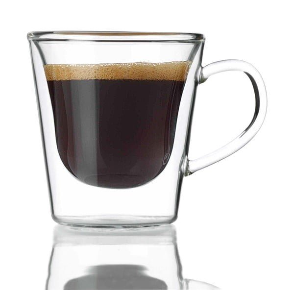 Zestaw 2 szklanek z podwójną ścianką Bredemeijer Espresso, 120 ml