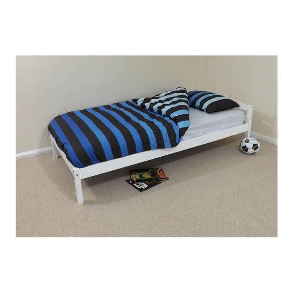 Łóżko Levi White, 198x97x65 cm